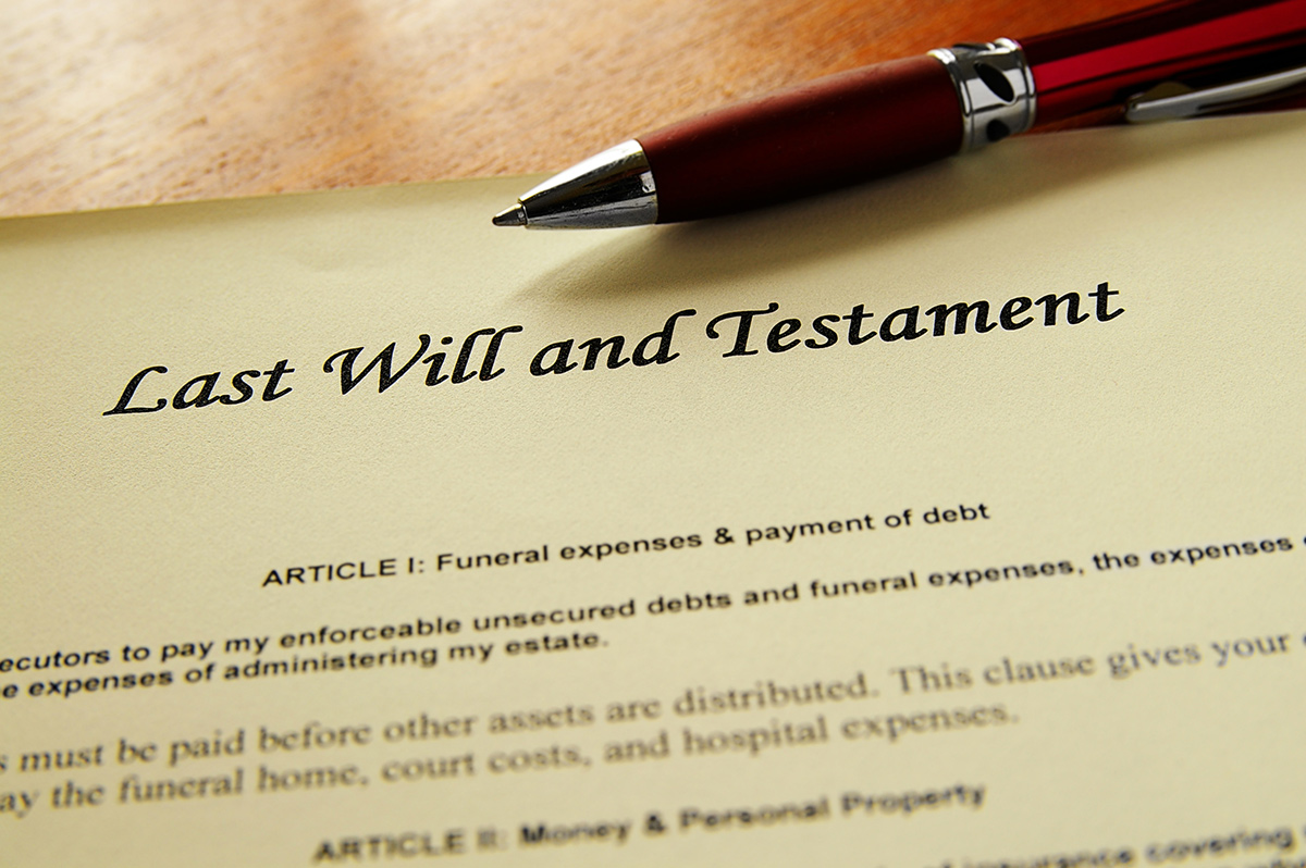 Last Will and Probate